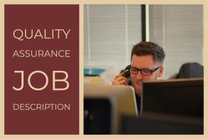 Quality Assurance Job Description