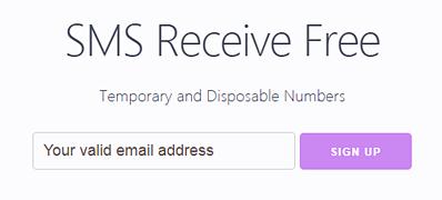 receive sms online